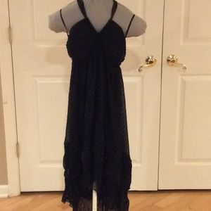 Cute H&M black halter dress sz 6